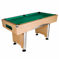Dynamic III 7 ft brown pool table - Dynamic Triumph 7ft billiard table oak