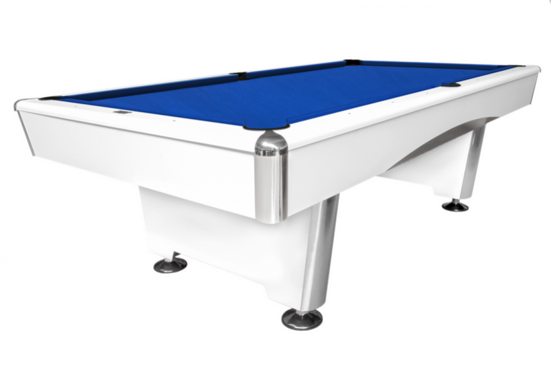 Billiard Table Dynamic Triumph 8 ft dull white