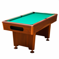Dynamic III 7 ft brown pool table - Billiard Table Dynamic Triumph 8 ft brown