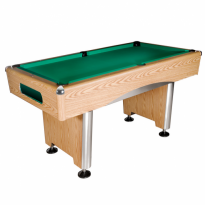 Dynamic III 7 ft brown pool table - Billiard Table Dynamic Triumph 8 ft oak