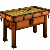 Pool table Riley Semi Pro 7ft black - Clash Missouri 7 ft Billiard Pool Table