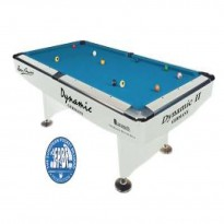 Billiard Pool Table Dynamic II 7 FT White