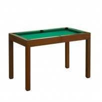 Dynamic III 7 ft brown pool table - Dynamic Mozart 7 ft Pool Table
