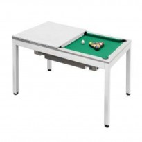Billiard Pool Table Dynamic Vancouver 7 Ft  Brown - Billiard Pool Table Dynamic Vancouver 7 Ft  White
