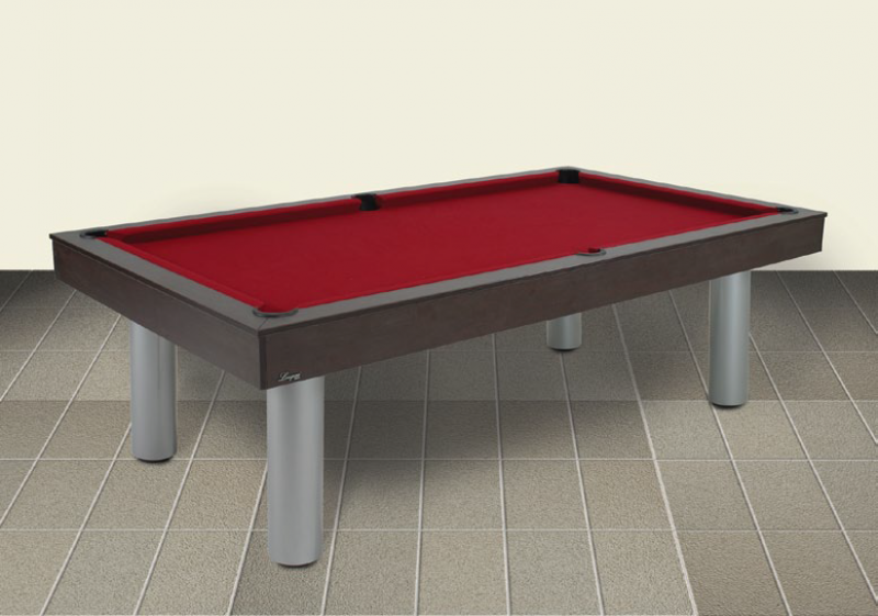 Red Devil Wengé Billiard Table