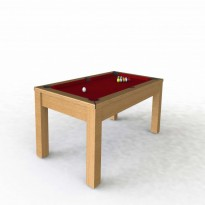 Pool table Riley Semi Pro 7ft black - Pool table Riley Challenger 7ft oak
