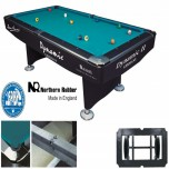 Dynamic Billiard table Hurricane 9FT White - Dynamic II Pool table 9ft black