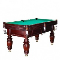 Dynamic III 9 ft brown pool table - Billiard Table Dynamic Turnus II 10 ft mahogany