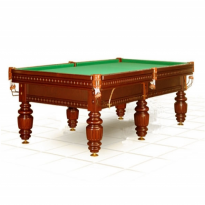 Dynamic III 9 ft brown pool table - Billiard Table Dynamic Turnus II 10 ft pekan