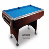 Billiard Table Dynamic Triumph 8 ft dull white - Prostar Club Tour Edition Mahogany 9 FT Pool table