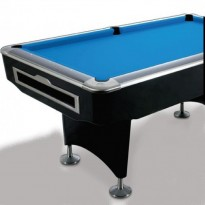 Billiard Table Dynamic Triumph 8 ft dull white - Prostar Club Tour Edition black 9 FT Pool table