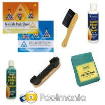 Catálogo de produtos - Pack Get your pool tables ready