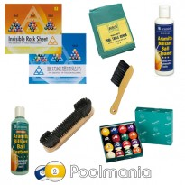 Catálogo de produtos - Pack Get your pool tables ready TOP Level