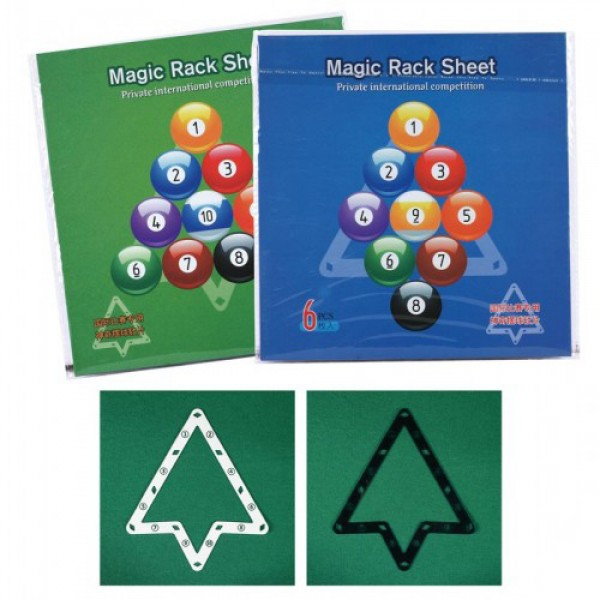 Magic Rack Sheet 9 and 10 ball