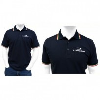 Longoni Luna Nera graphite carom shaft - Longoni Blue Polo Shirt