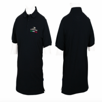 Longoni Luna Nera graphite carom shaft - Longoni Black Polo Shirt
