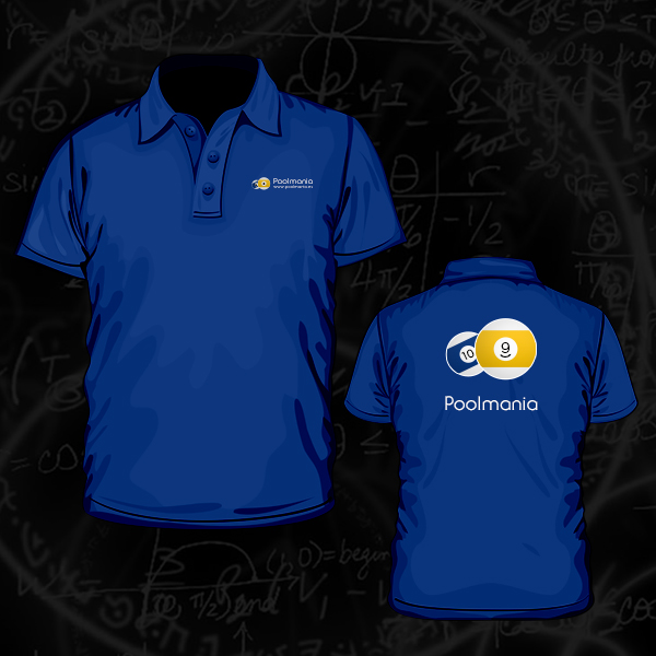 Poolmania Blue Embroided Polo Shirt