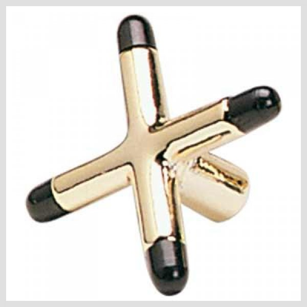 Cross shaped brass Bridge Head