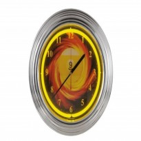 8 ball Neon Clock - Neon billiard clock NBU-3