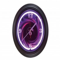 8 ball Neon Clock - Neon billiard clock NBU-4