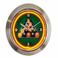 Catalogue de produits - Neon billiard clock NBU-6