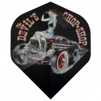 Catalogo di prodotti - Dart Flights Bull's Alchemy Chop Shop