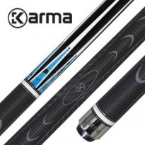 Caudron Invisible Billiard Cue Grip - Karma Blue Dila K2 Grip Billiard Cue