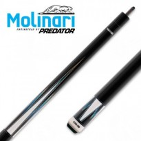 Molinari 2x4 Black-Orange cue case - Molinari by Predator CRMSP-18A Carom Billiard Cue