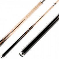Predator Roadline Bur/White 2x4 Cue Case - Predator Throne 2-2 Pool Billiard Cue