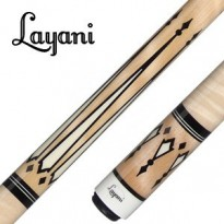 Layani Grey Sonoran Carom Billiard Cue - Layani Daske Natural Special Edition Carom Cue