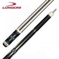 Longoni Magnifica Pool Cue - Longoni Black Mamba Shiny Star Pool Cue
