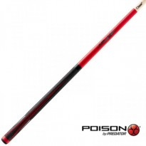 Pool break cue Poison VX5 BRK White - Poison VX4-JMP-R Jump Cue