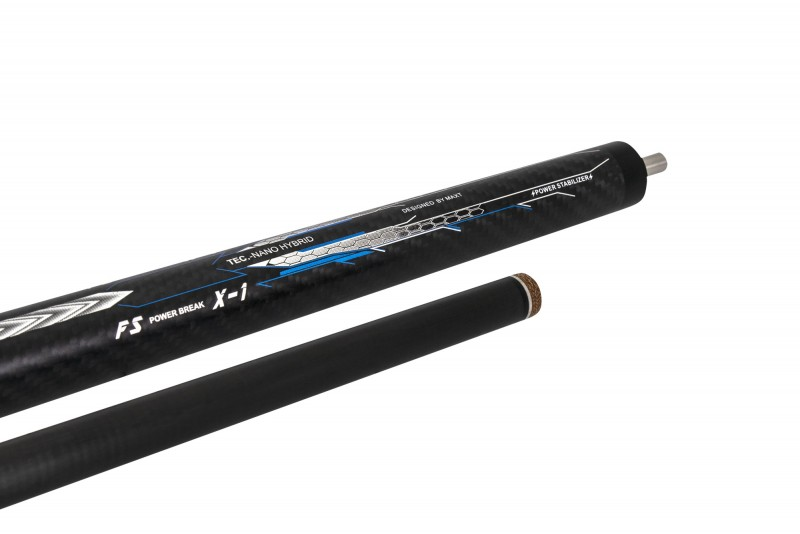 Fury CFX-2 Carbon Break Cue PU Wrap
