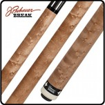 Pechauer Black Ice Uni-Loc Break Shaft - Pechauer BREAK Cue Natural Stained