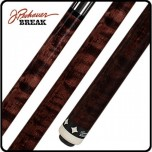 Pechauer Rogue Carbon Fiber Shaft (Pro Series) - Pechauer BREAK Cue Rosewood Stained