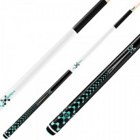 Pool break cue Poison VX5 BRK Black - Pool break cue Poison VX5 BRK White