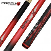 Predator BK RUSH Break Pool Cue SW - Poison VX4-BRK-R Break-Jump Pool Cue