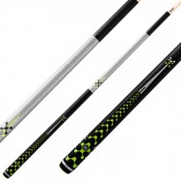 Pool break cue Poison VX5 BRK Black - Break and Jump Pool Cue Poison VX5 BRK Silver