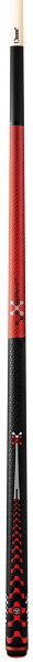 Break and Jump Pool Cue Poison VX5 BRK red