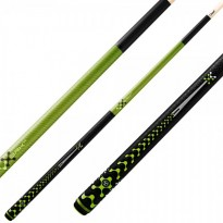 Catalogue de produits - Break and Jump Pool Cue Poison VX5 BRK Green