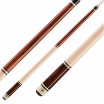 Longoni Black Jump/Break cue - Jump Break BJ2 Brown