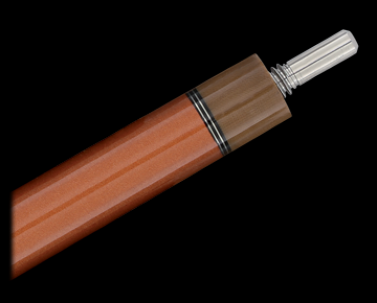 Longoni Hurricane 2 Orange wood Billiard Cue