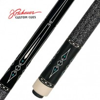 Pechauer Pro P03-K pool cue - Pechauer Limited Edition The Raven Pool Cue