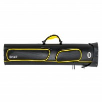Bear Jump Cue BCJC black - Bear Yellow and Black Cue Case 2x4