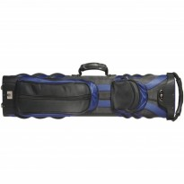 Classic Sport SP-322 2x2 Cue Case - Classic Sport SP-222 2x2 Black and Blue Cue Case