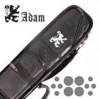 LONGONI GIOTTO OCEANO 4X8 SOFT CUE CASE - Billiard Cue Case Adam 4x8 Black