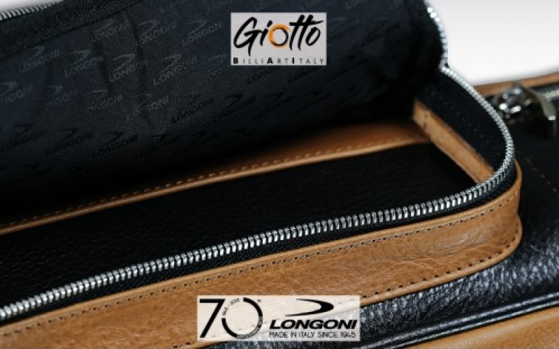 Longoni Giotto Autumn 4x8 soft cue case