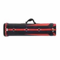Products catalogue - Classic Fortuna 2x4 Black and Red Cue Case