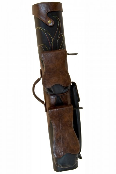 Classic Lakota 1 2x4 Brown and Black Cue Case