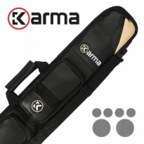 Products catalogue - Karma Bara 2x4 Black and Beige Cue Case